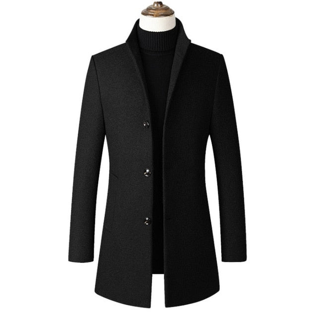 Manteau Long : Élégance
