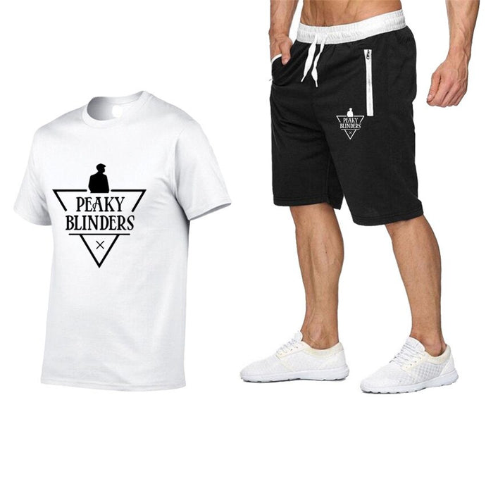 T-Shirt & Short Peaky Blinders : White Edition