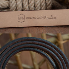 Load image into Gallery viewer, Ceinture Cuir - Vintage Arthur