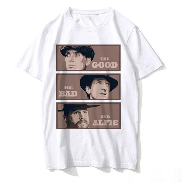 T-Shirt Peaky Blinders : The Good, The Bad... Alfie