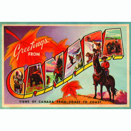 Canadian Culture Thing postcard CCT0017