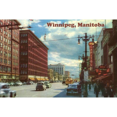 Canadian Culture Thing postcard CCT0042