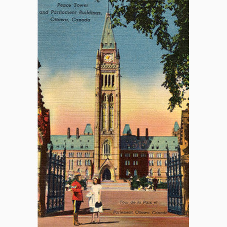Canadian Culture Thing postcard CCT0055