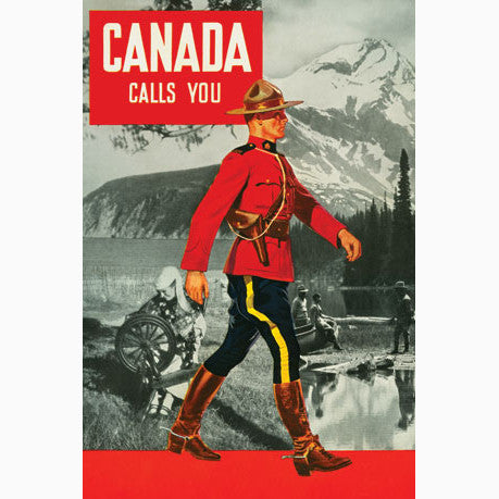 Canadian Culture Thing postcard (No Wholesale) CCT0072