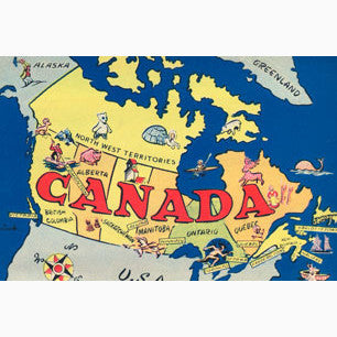 Canadian Culture Thing postcard CCT0073
