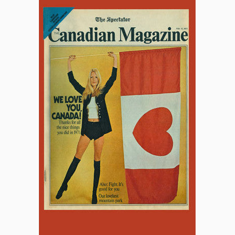 Canadian Culture Thing postcard CCT0077