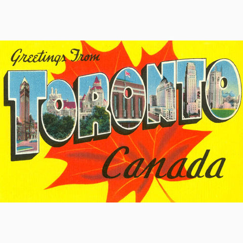 Canadian Culture Thing postcard CCT0087