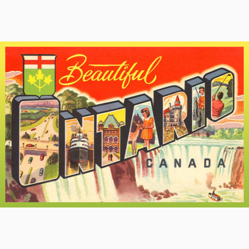 Canadian Culture Thing postcard CCT0088