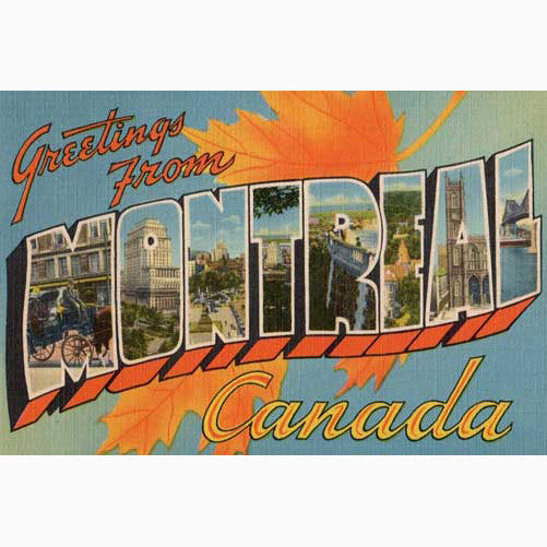 Canadian Culture Thing postcard CCT0105