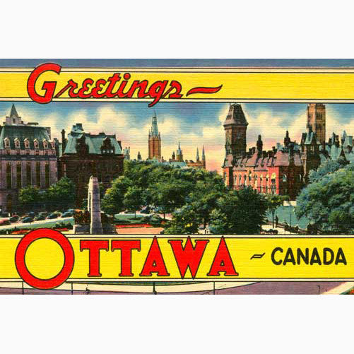 Canadian Culture Thing postcard CCT0106