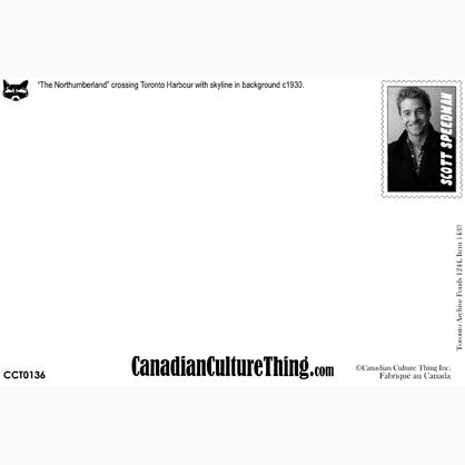 Canadian Culture Thing postcard CCT0136