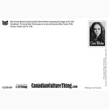 Canadian Culture Thing postcard CCT0139