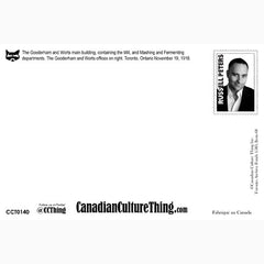 Canadian Culture Thing postcard CCT0140