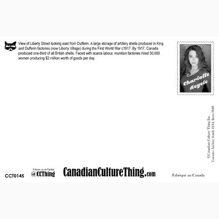 Canadian Culture Thing postcard CCT0145