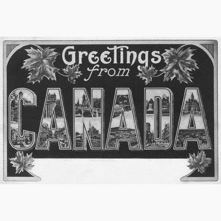 Canadian Culture Thing postcard CCT0147
