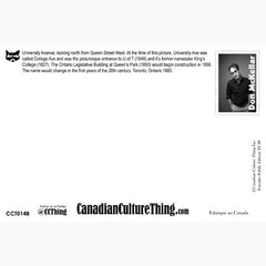 Canadian Culture Thing postcard CCT0148