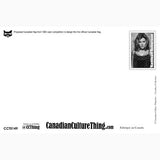 Canadian Culture Thing postcard CCT0149
