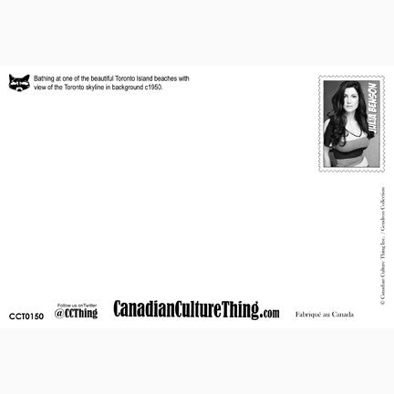 Canadian Culture Thing postcard CCT0150
