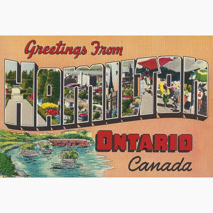 Canadian Culture Thing postcard CCT0153