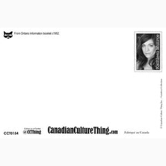 Canadian Culture Thing postcard CCT0154