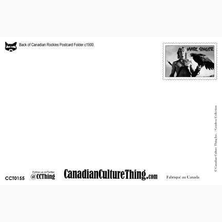 Canadian Culture Thing postcard CCT0155