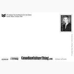 Canadian Culture Thing postcard CCT0159