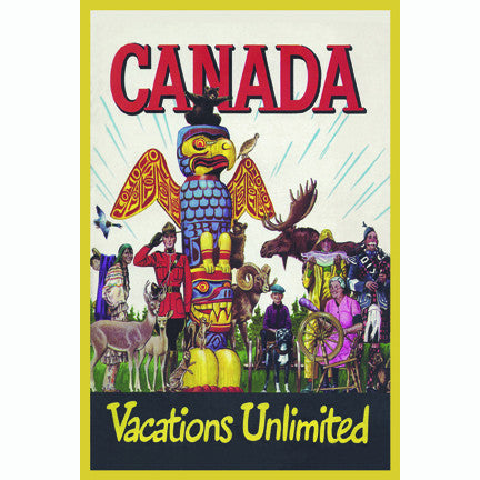 Canadian Culture Thing postcard CCT0161