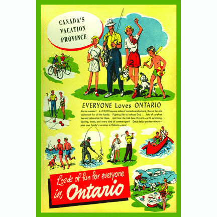 Canadian Culture Thing postcard CCT0164