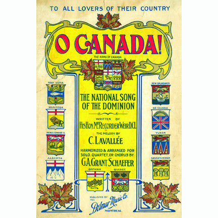 Canadian Culture Thing postcard CCT0177