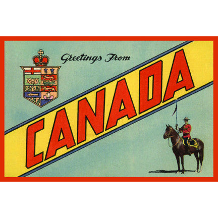 Canadian Culture Thing postcard CCT0194