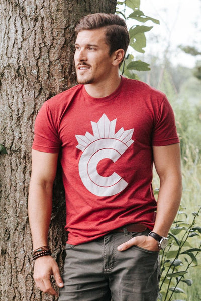 SALE-Ole Originals Retro Canadian Men's T-Shirt