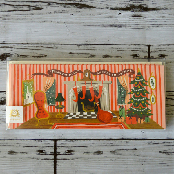 SALE-Christmas-Rifle Paper Co. Boxed Christmas Cards G1X003