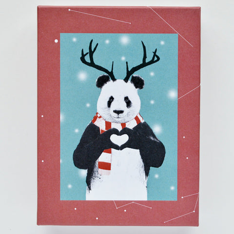SALE-Christmas-Retrospect Group Boxed Christmas Cards - XDB600