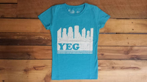 SALE-Ole Originals Girls YEG Edmonton T-shirt