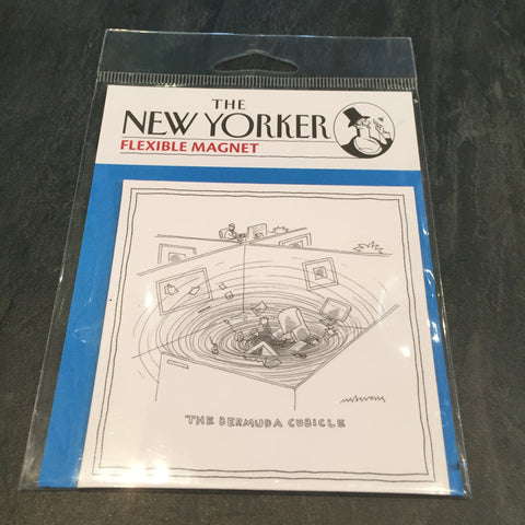 SALE-New Yorker Bermuda Cubicle Magnet
