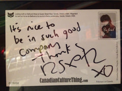 Canadian Culture Thing postcard CCT0110