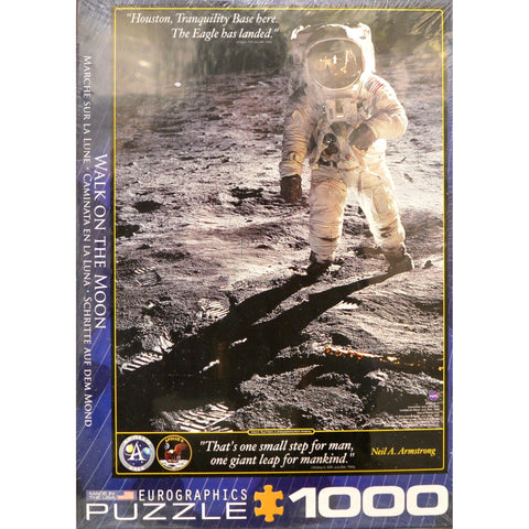 Eurographics - Walk On The Moon Puzzle #6000-4953