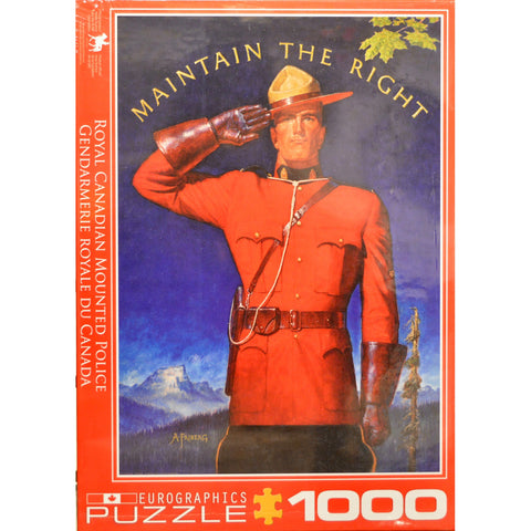 Eurographics - RCMP Maintain The Right #6000-0972