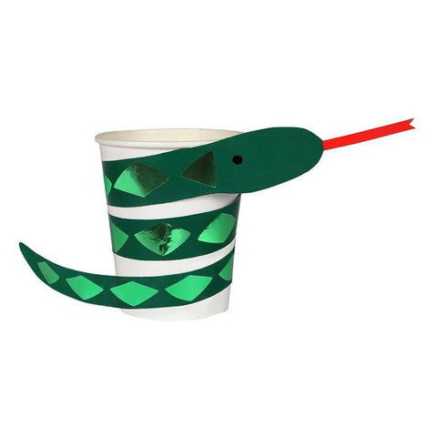 SALE-Go Wild Snake Party Cups