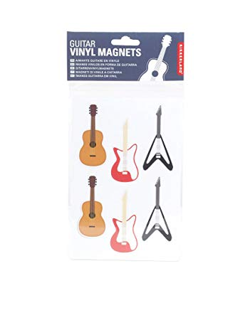 SALE-Kikkerland Guitar Magnets