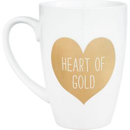 SALE-Paper Source Heart of Gold Mug