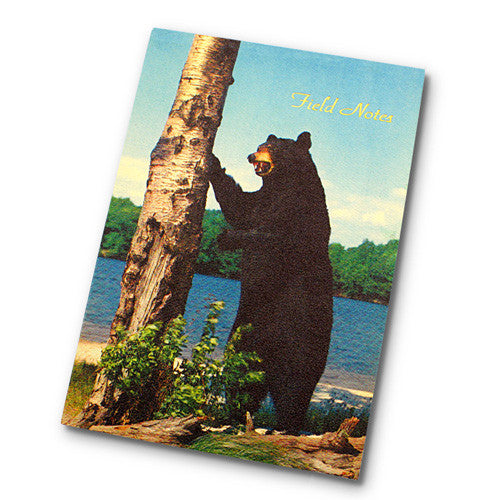 Canadiana Field Notes Journal - Bear