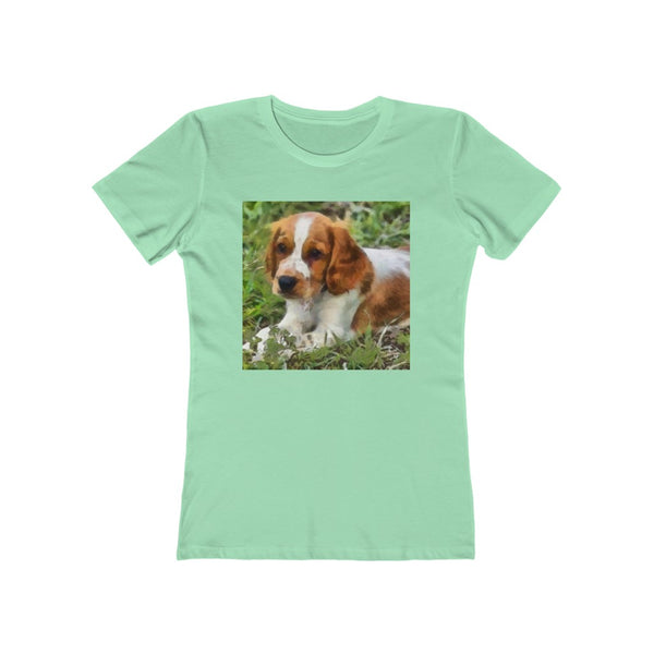 Welsh Springer Spaniel - Women's Ringspun Cotton T-Shirt