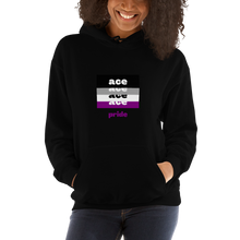Load image into Gallery viewer, Asexual Pride Hoodie