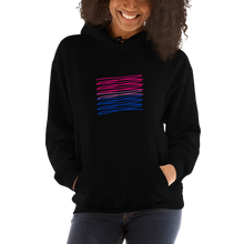 Load image into Gallery viewer, Chaotic Bisexual Flag Hoodie | ThisIsTheirs