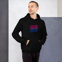 Load image into Gallery viewer, Chaotic Bisexual Pride Hoodie | ThisIsTheirs