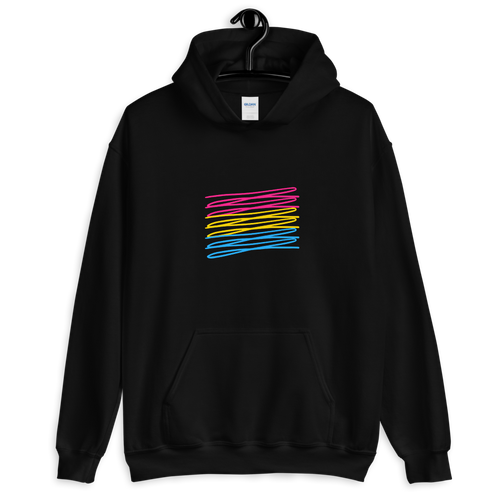 Chaotic Pansexual Hoodie | ThisIsTheirs