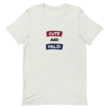 Load image into Gallery viewer, Cute And Valid Pride T-Shirt | ThisIsTheirs