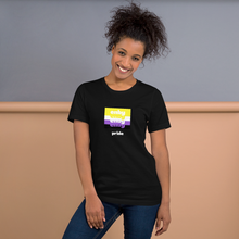 Load image into Gallery viewer, Enby Pride T-Shirt Black