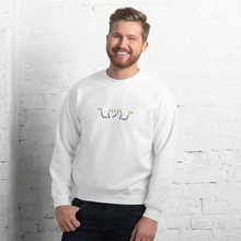 Load image into Gallery viewer, Enby Shrug Cute Non-Binary Sweatshirt